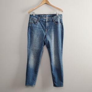 Old Navy Super Skinny Mid Rise Jeans